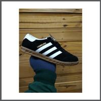 Sepatu Adidas Hamburg Premium black White