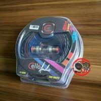 Kabel Cello Premium Set Instalasi Audio Mobil 500w
