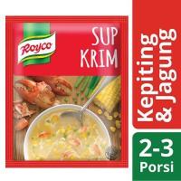 ROYCO Sup Krim Kepiting Jagung 50gr - Instant Crab Corn Cream Soup
