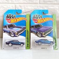 Hot Wheels Super Treasure Hunt Ths Th$ Chevrolet Ss Blue Ban Karet