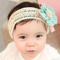 Baby Bandana Pita Simpul Lucu untuk Aksesoris Rambut Bayi / Anak