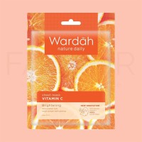 Wardah Nature Daily Sheet Mask Vitamin C 20ml