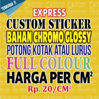 Custom Stiker, Custom Sticker, Stiker, Sticker, Bahan Chromo perCM2 02
