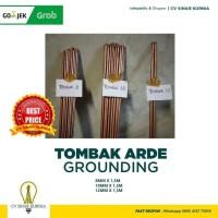 Grounding tembaga / grounding penangkal petir 12mm x 1,5M