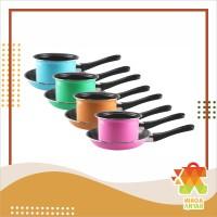 MASPION Pastela Frypan & Milkpan Set Teflon / Panci Susu & Wajan Set
