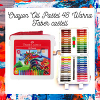 Crayon Oil Pastel 48 Warna Faber castell