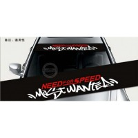 stiker cutting kaca mobil depan need for speed most wanted