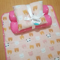 Set matras perlak alas kasur bayi bedding set bantal peang guling baby