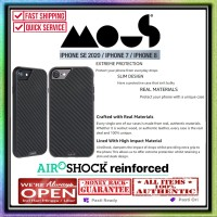 Case iPhone SE 2020 / 8 / 7 Mous Limitless Real Carbon Protective Case