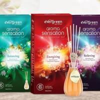 Original Evergreen Reed Diffuser Pewangi Ruangan 30 ml