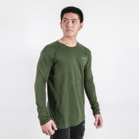Original Performance Longsleeve Green Army