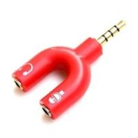 Splitter Audio Shape U 3.5mm ke Headphone & Mic