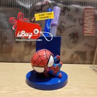 Miniso Cute Spiderman Tempat Alat Tulis Pulpen Pensil Desk Organizer