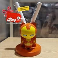Miniso Cute Ironman Tempat Alat Tulis Pulpen Pensil Desk Organizer