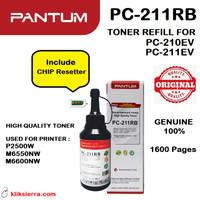 PANTUM PC-211RB Toner Refill PC211RB for PC-210EV 211EV P2500W M6550NW