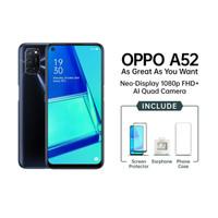 Oppo A52 - 6GB / 128GB (6/128) - New Baru Original Garansi Resmi