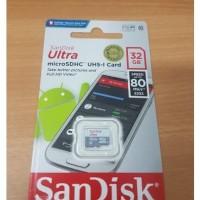 Sandisk Ultra micro 32gb 80mbps garansi resmi