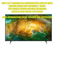 SONY LED TV ANDROID 4K KD-65X8000H