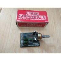 KIT FILTER SUBWOOFER kit filter subwoofer SJ