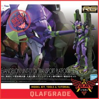 RG EVANGELION UNIT 01 DX TRANSPORT PLATFORM SET