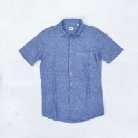 kemeja second linen uniqlo