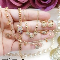 xuping set perhiasan anak lapis emas S212
