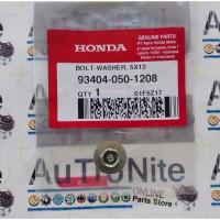 Baut Ring Kunci 8 Bolt Washer 5x12 mm 93404-050-1208 Original Honda