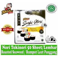 Tokinori Sushi Nori 50 Lembar / Rumput Laut Panggang / Roasted Seaweed