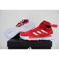 Sepatu Basket Adidas Pro Bounce 19 Madness High Red White