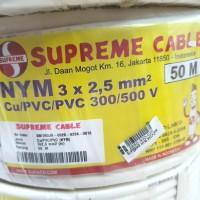 SUPREME KABEL NYM 3 X 2.5 X 50 METER