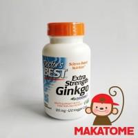 Doctor's Best Extra Strength Ginkgo 120 mg 120 Capsul Doctors biloba
