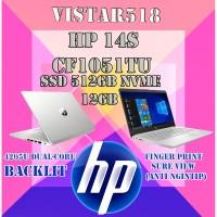 "LAPTOP HP 14s CF1051TU - N4205 SSD 512GB NVMe 12GB 14"" INTEL UHD WIN10"
