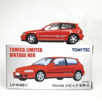 TOMICA LIMITED VINTAGE LV-48A, HONDA CIVIC SIR-II