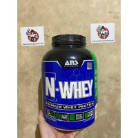 ANS N WHEY / N-WHEY 5LBS whey protein bulking cutting suplemen fitness