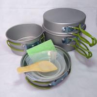 Cooking Set ( Alat Masak ) Camping / Outdoor Susun 4 SY-301