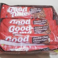 Biskuit Good Time Double Chocochip & Rainbow Chocochip Box