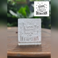 SOAP DECORATION acrylic soap stamp stempel sabun akrilik MAGA