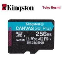 Kingston MicroSD Card Canvas Go! Plus Class 10 MicroSDXC 256GB