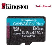 Kingston MicroSD Card Canvas Go! Plus Class 10 MicroSDXC 64GB
