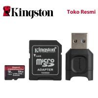 Kingston MicroSD Card Canvas React Plus Class 10 MicroSDXC 64GB