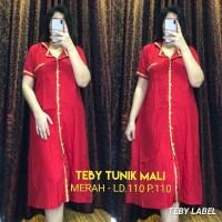 Daster Arab Tunik Mali by Teby Original / Baju Wanita / Baju Tidur