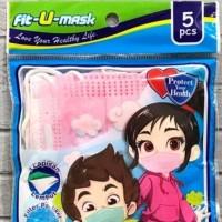 masker anti virus corona anak