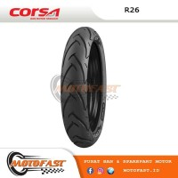 BAN MOTOR CORSA TUBELESS 120/70-17 R26 PLATINUM NINJA250 R25 MX KING