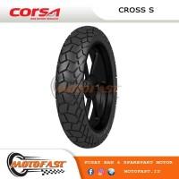 BAN MOTOR CORSA TUBELESS 140/80-17 CROSS S PLATINUM NINJA250 CBR250RR