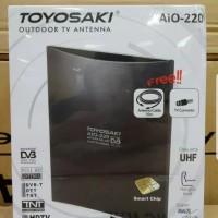 Outdoor Indoor Antenna TV Toyosaki AIO 220 AW