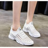 Promo Sepatu Wanita/Fashion Wanita/Sepatu Running/Sneakers Wanita - Putih, 37