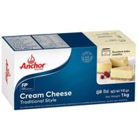 ANCHOR CREAM CHEESE 1 KG/ CHEESE CREAM ANCHOR 1 KG
