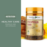 Healthy Care Propolis 1000 200 Caps ORIGINAL AUSTRALIA Kesehatan Tubuh