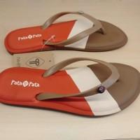 sandal bata pata pata wanita model jepit warna coklat