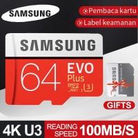 Samsung Kartu Memori TF Class10 Kapasitas 64GB Memory Card Micro SD